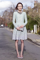 Matthew Williamson dress - Wilbur & Gussie bag - Sophia Webster heels