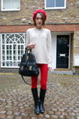 Massimo-dutti-boots-zara-jeans-american-apparel-hat-mulberry-bag