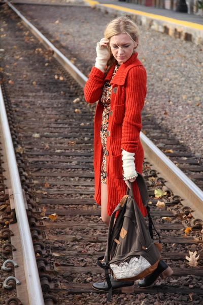 sweater - dress - bag
