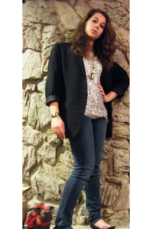 Poetic Liscense shoes - Hydraulic Jeans jeans - Agaci top - jacket