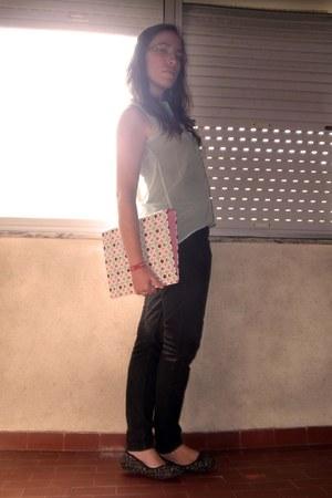 Tally Weijl blouse - Zara jeans - floral Seaside flats
