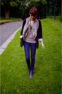 Blue-zara-blazer-blue-asos-jeans-gray-boots-black-purse-gray-h-m-t-shirt