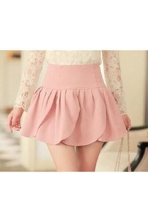 light pink unknown skirt
