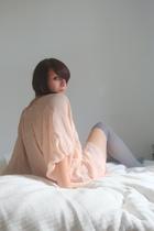 Topshop blouse - H&M socks