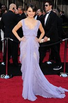 lavender Elie Saab dress