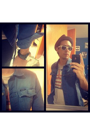 blue denim Pull &amp; Bear jacket