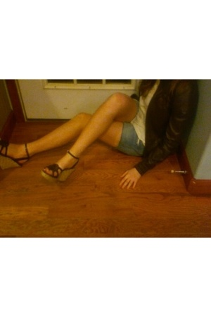 Urban Outfitters jacket - American Eaglele shoes - Urban Outfitters blouse - Urb