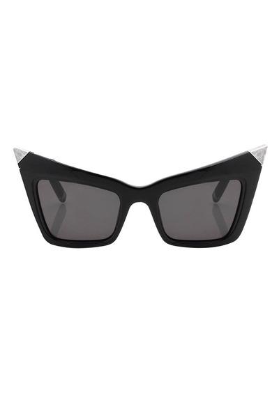 black retro Alexander Wang glasses
