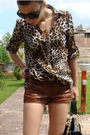 Brown-zara-shirt-brown-custom-made-leather-shorts-brown-custom-made-shoes-