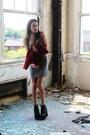 Laurensuzanne-dress-vivian-shu-jacket-jeffrey-campbell-pumps