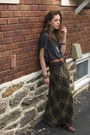 Free-people-shirt-the-limited-skirt-vintage-shoes-vintage-belt-ebay-neck