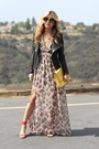 Red-shoedazzle-shoes-brown-angl-dress-black-prada-sunglasses