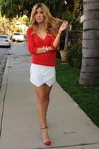 Zara skirt - Shoedazzle heels