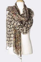 Leather-and-sequins-scarf