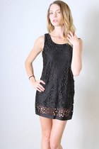 Leather and Sequins dress