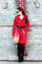 Red coat = Spring passion