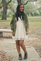 Forever21 jacket - Urban Outfitters dress