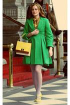 chartreuse coat