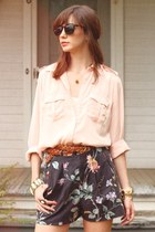 Lenna Agnes shorts - blouse - belt