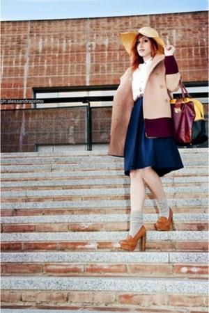 Primark bag - Primark jacket - H&M shirt - H&M skirt
