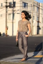 trousers asos pants - Rocksbox necklace