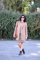 asos jacket - Edith Miller shirt - Cuyana bag - clubmaster ray-ban sunglasses