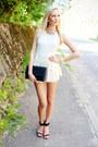 Black-h-m-bag-black-zara-heels-white-sheinside-romper