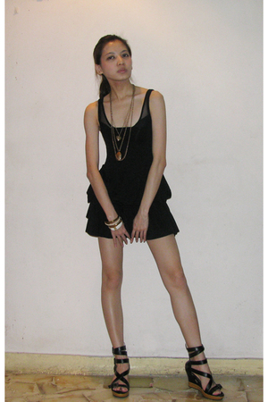 dress - American Apparel top - Forever21 necklace - Taipei bracelet - Taipei sho