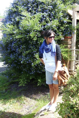 cotton on scarf - - Sportsgirl purse - Mums jeans