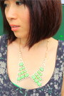 Chartreuse-crosswoodstore-necklace