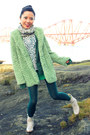 Off-white-ankle-flat-thompson-boots-lime-green-faux-fur-forever-21-coat