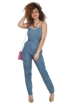 Denim Babe Jumpsuit