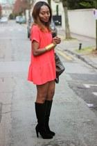 Kookai shoes - Dimension dress - Zadigetvoltaire bag