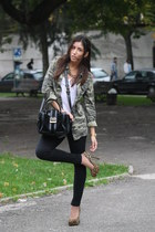 Zara jacket - Primark shoes - Zara bag