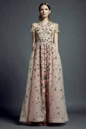 light pink Valentino dress