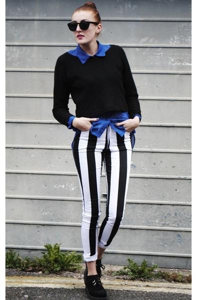 Motel Rocks jeans - H&M shirt - new look jumper