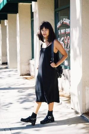 black H&M Trend dress - JuJu sandals