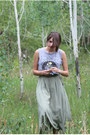 Heather-gray-la-lune-tank-top-green-maxi-skirt-skirt
