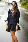 Navy-zara-sweater-white-topshop-sunglasses-black-mermaid-zara-skirt