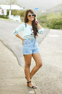 Aquamarine-la-hearts-sweater-light-blue-bullhead-shorts
