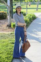 H&M hat - Target shirt - Target sandals - H&M pants