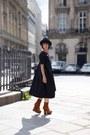 Acne-boots-cos-dress-vintage-hat