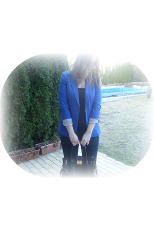 H&amp;M jeans - H&amp;M blazer - Local store bag - H&amp;M top