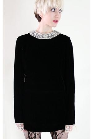 black Lolita Vintage dress