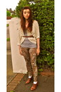 Brown-new-look-shoes-leopard-print-topshop-leggings-brown-h-m-belt