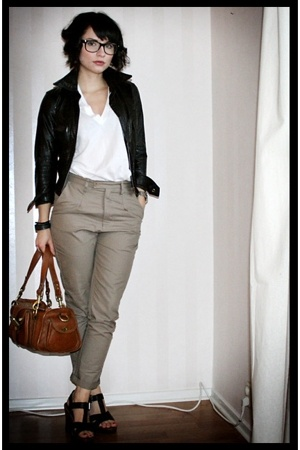 Cheap Monday pants - vintage jacket - Mulberry purse - asos shoes