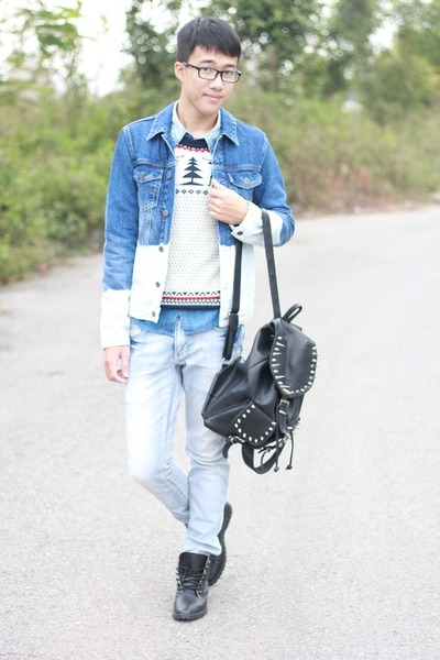 denim asos jacket