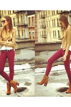 ruby red MNG jeans