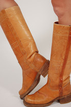 Leather-lotus-vintage-boots
