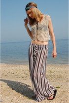 Striped-lotus-vintage-pants